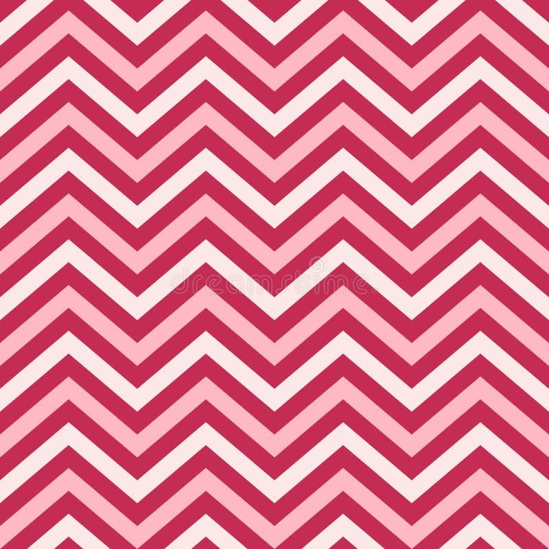 Fundo, teste padrão, textura para bater o papel, cartões, convite, bandeiras e decorati de Valentine Day Pink Geometric Seamless ilustração royalty free