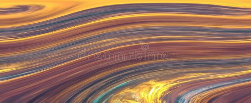 Fundo, textura, listras horizontais de cores brilhantes ilustração do vetor