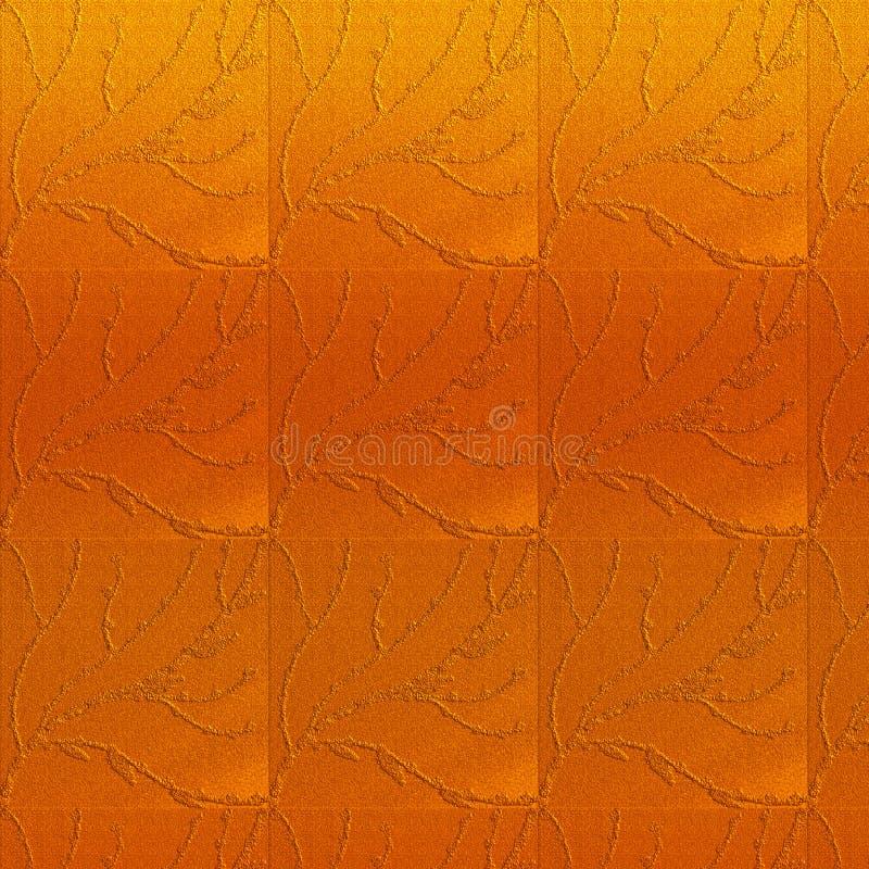 Fundo textured ambarino Tema da pintura do trabalho da linha 3D gravou efeitos Arte finala tirada mão foto de stock royalty free