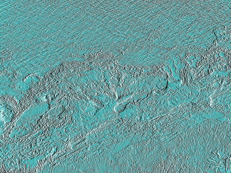 Fundo textured aquático abstrato imagens de stock