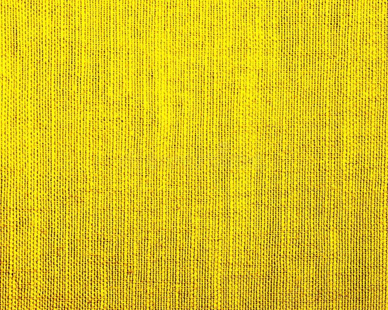 Fundo Textured da mat?ria t?xtil natural amarela ilustração stock
