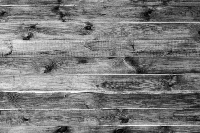 Fundo Textured das placas de madeira do tom monocromático fotos de stock royalty free