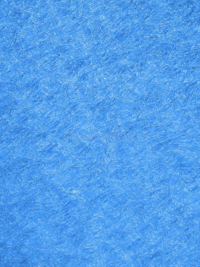 Fundo textured do gelo inverno azul natural imagem de stock