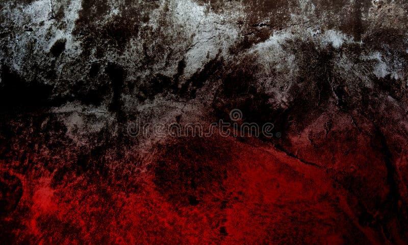 Fundo textured do grunge vermelho e branco da lama fotografia de stock royalty free