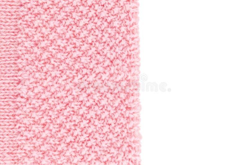 Fundo textured lãs de Rosa fotos de stock