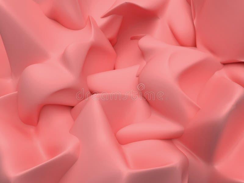 Fundo textured massa de modelar ilustração stock