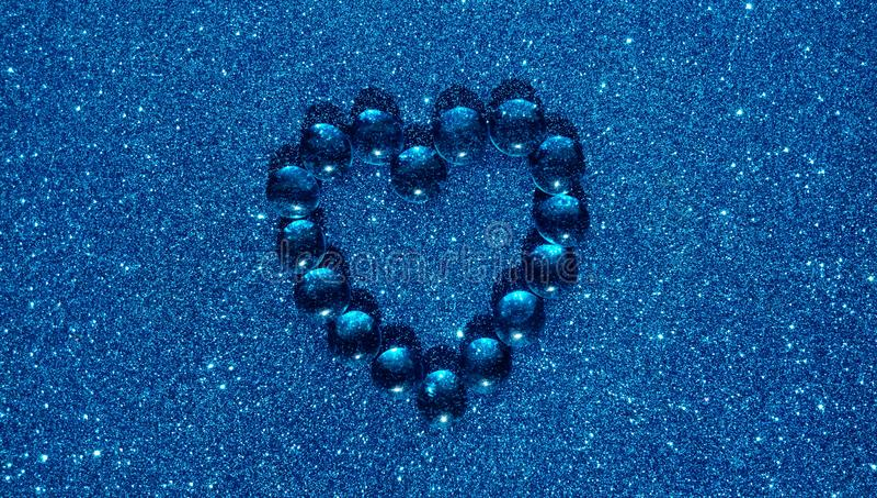 Fundo textured metálico do coração do sumário, papel de parede fotografia de stock royalty free