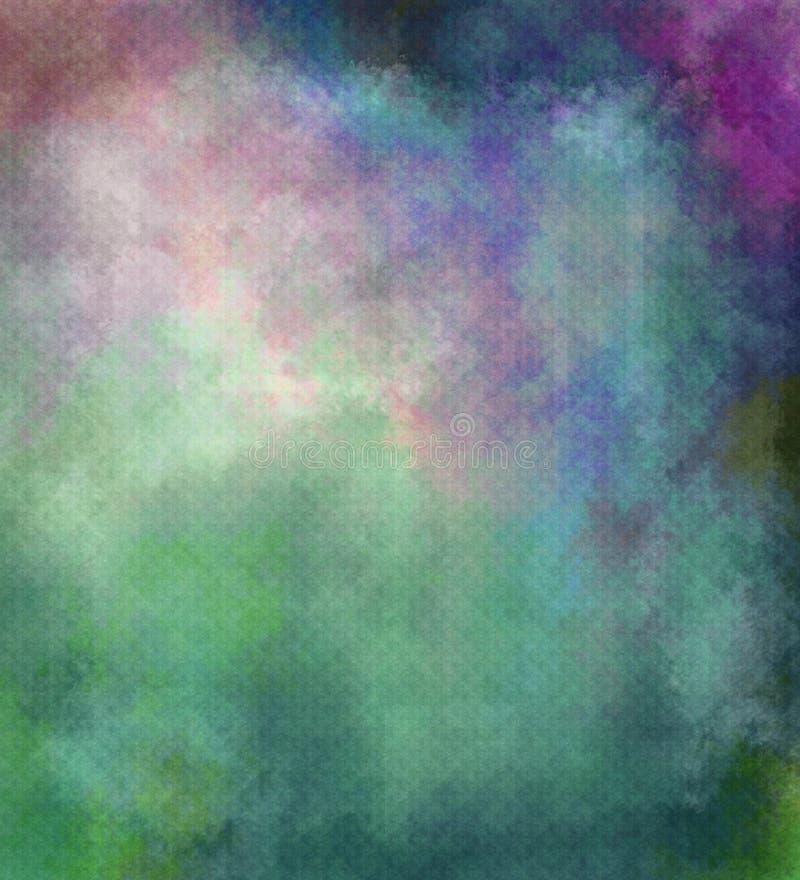 Fundo textured sumário no verde, violeta fotos de stock