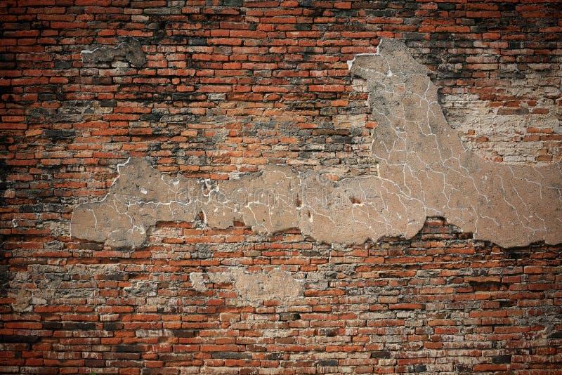 Fundo Textured: teste padrão velho do brickwall fotografia de stock