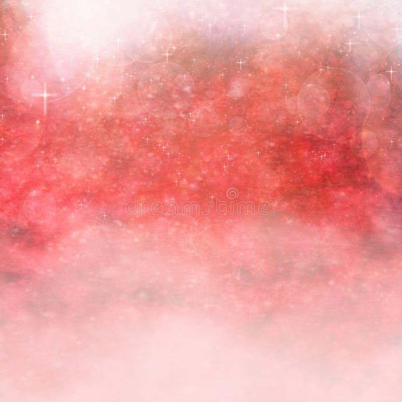 Fundo Textured vermelho ilustração royalty free