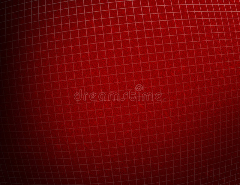 Fundo textured vermelho da grade ilustração royalty free