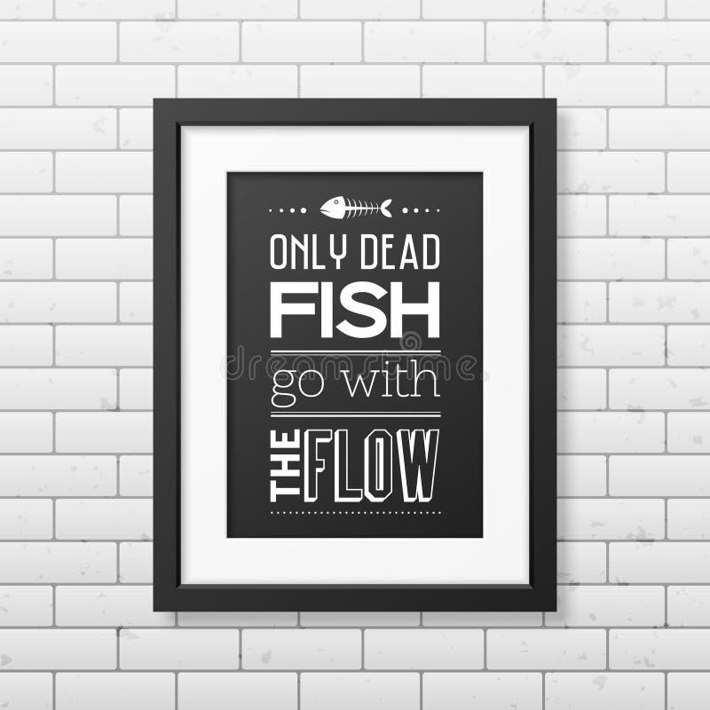 Fundo tipográfico das citações no quadro preto ilustração stock