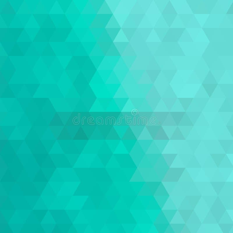 Fundo triangular azul disposição para anunciar - Vektorgrafik Eps 10 ilustração do vetor