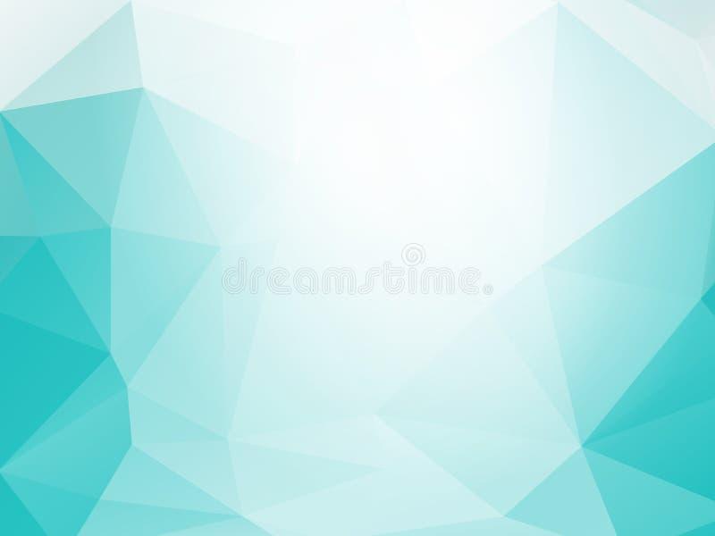 Fundo triangular fresco ilustração royalty free