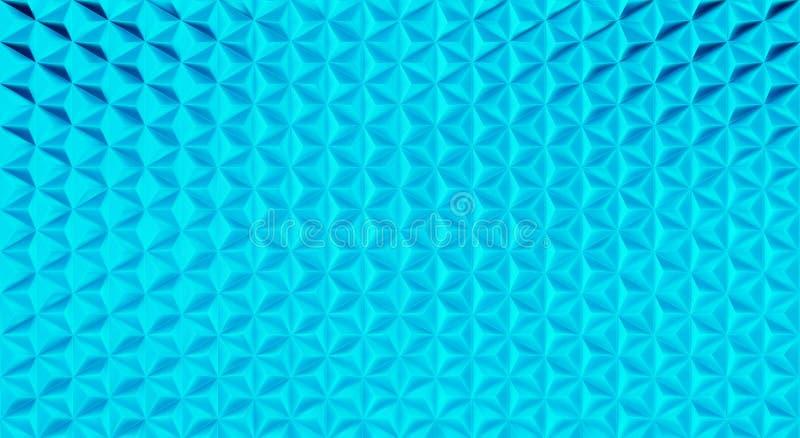fundo triangular poligonal do teste padrão da forma do vetor 3D ilustração royalty free
