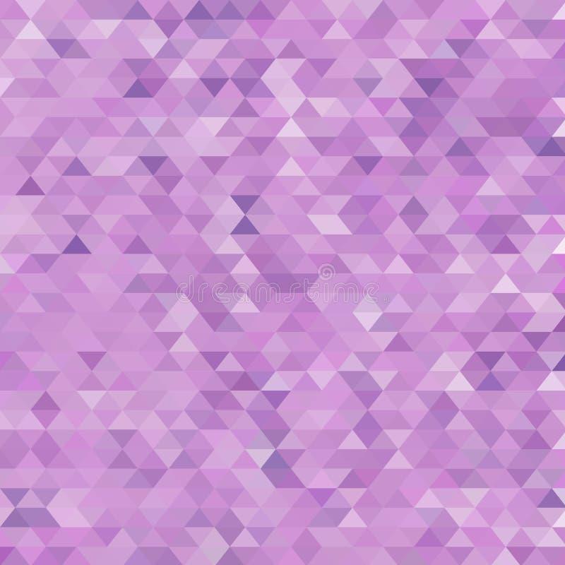 Fundo triangular roxo Disposi??o para anunciar Eps 10 ilustração stock