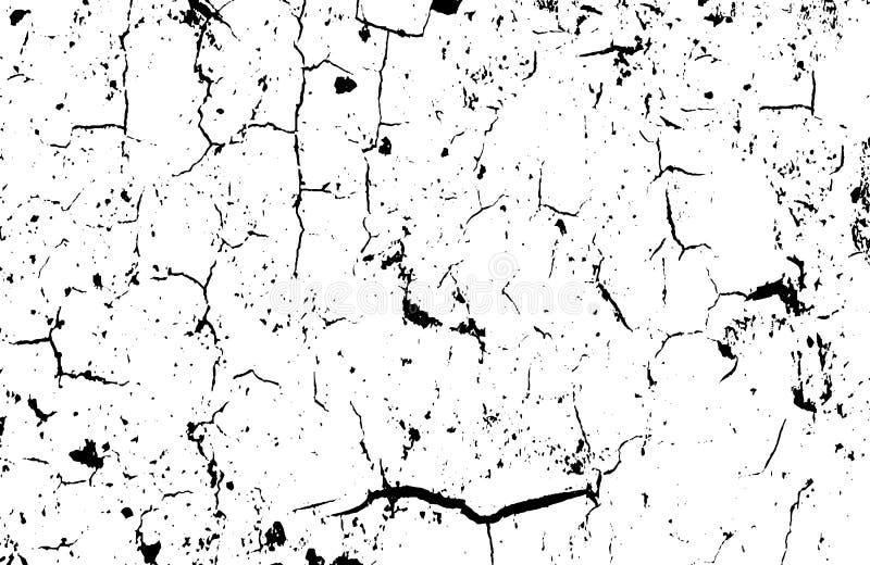 Fundo urbano do grunge do vetor Textura da aflição Fácil criar o efeito afligido abstrato ilustração royalty free