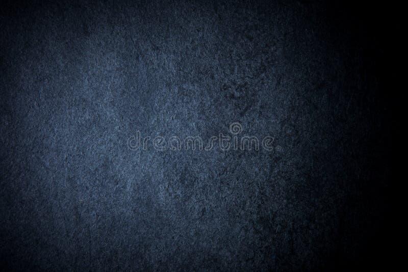 Fundo vazio da ardósia natural escura imagens de stock