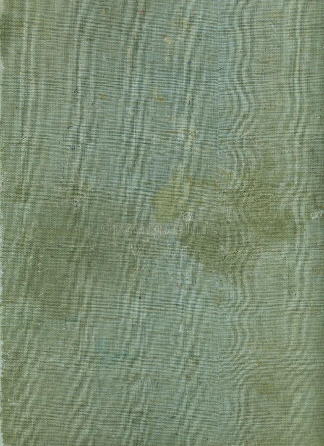 Fundo velho da lona da capa do livro da placa A textura do vintage resistiu ao fundo da tela foto de stock