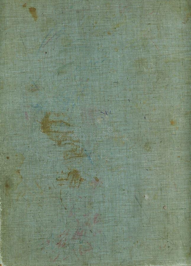 Fundo velho da lona da capa do livro da placa A textura do vintage resistiu ao fundo da tela ilustração do vetor