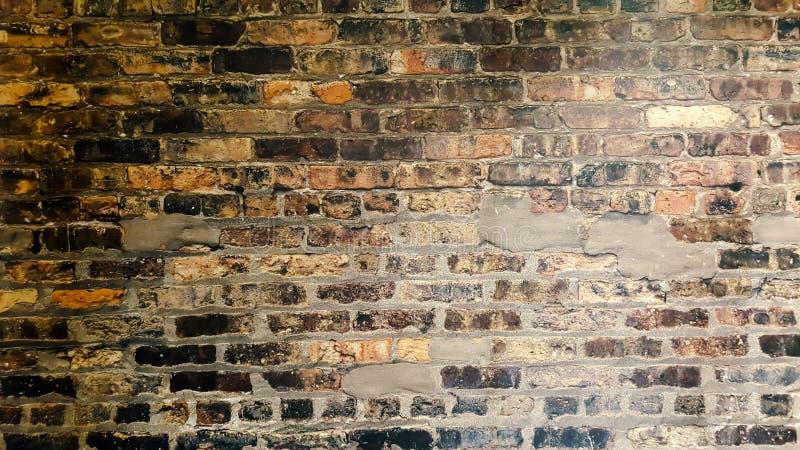 Fundo velho da parede de tijolo do grunge imagem de stock