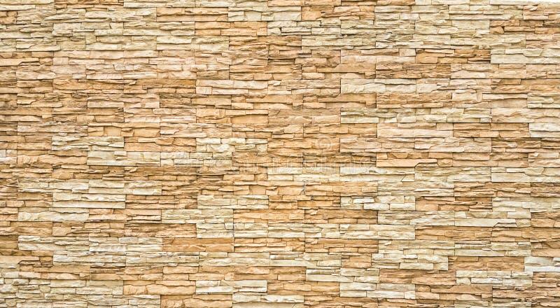 Fundo velho da parede de tijolos de Brown imagem de stock