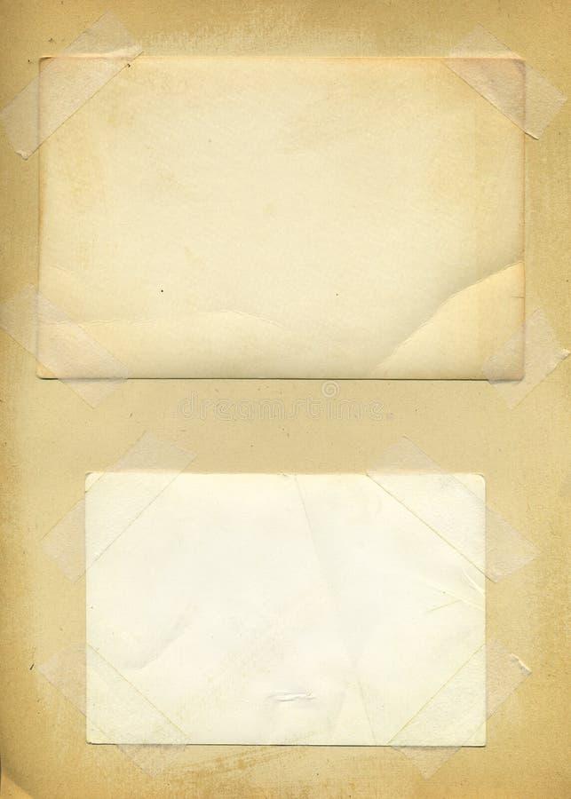Fundo velho da textura do papel da foto ilustração do vetor