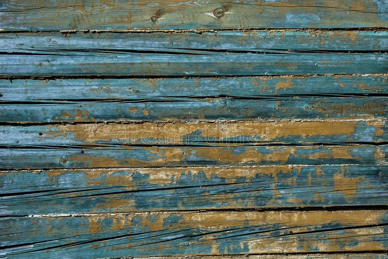 Fundo velho das placas de madeira do vintage fotografia de stock