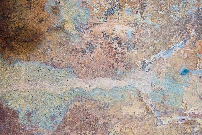 Fundo velho rachado e da casca da pintura da parede Grunge clássico imagem de stock royalty free