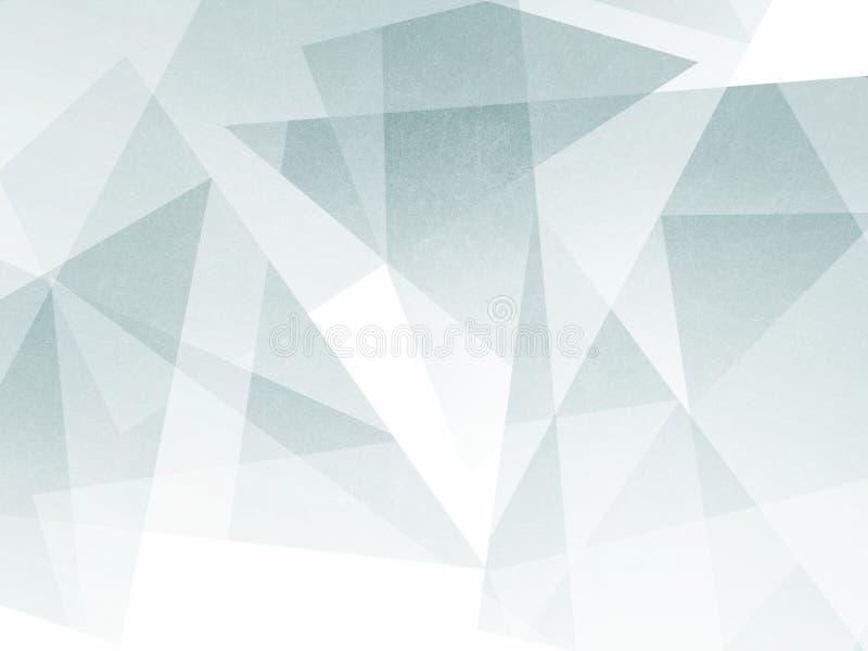 Fundo verde abstrato com formas mergulhadas e projeto textured material transparente ilustração do vetor