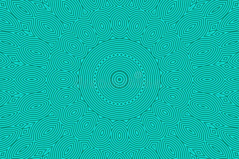 Fundo verde abstrato da textura ilustração stock