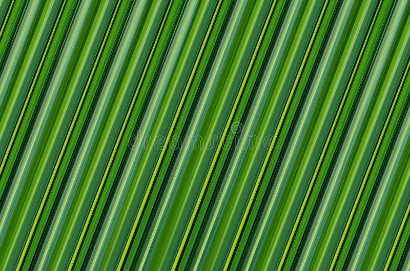 Fundo verde abstrato projeto natural do teste padrão do eco da folha da banana da textura ilustração do vetor