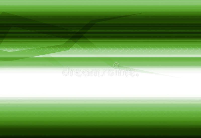 Fundo verde da alta tecnologia ilustração royalty free