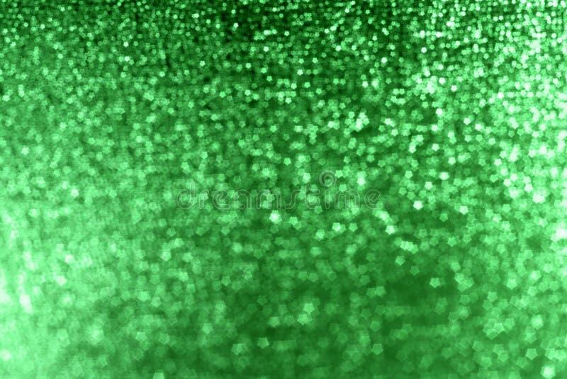 Fundo verde da faísca imagens de stock royalty free