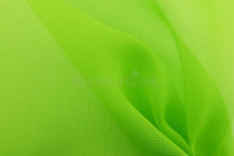 Fundo verde da textura da tela fotografia de stock