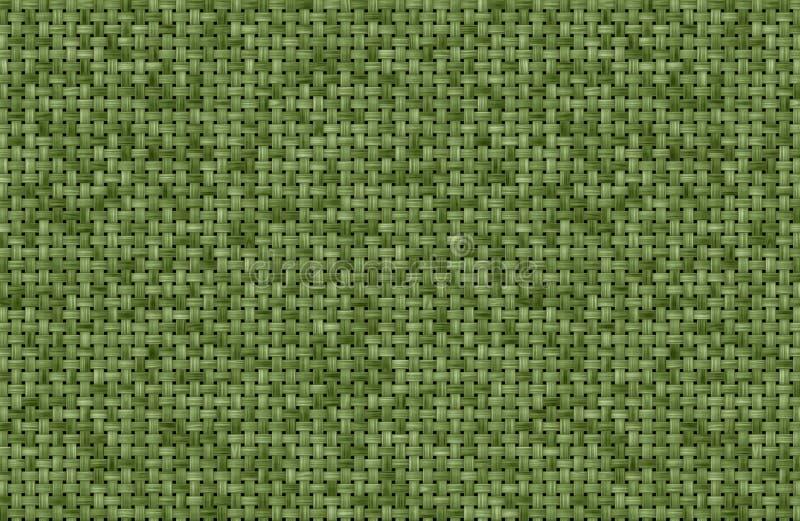 Fundo verde da textura da tela ilustração royalty free