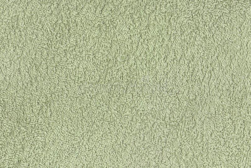Fundo verde da textura de lãs imagem de stock royalty free