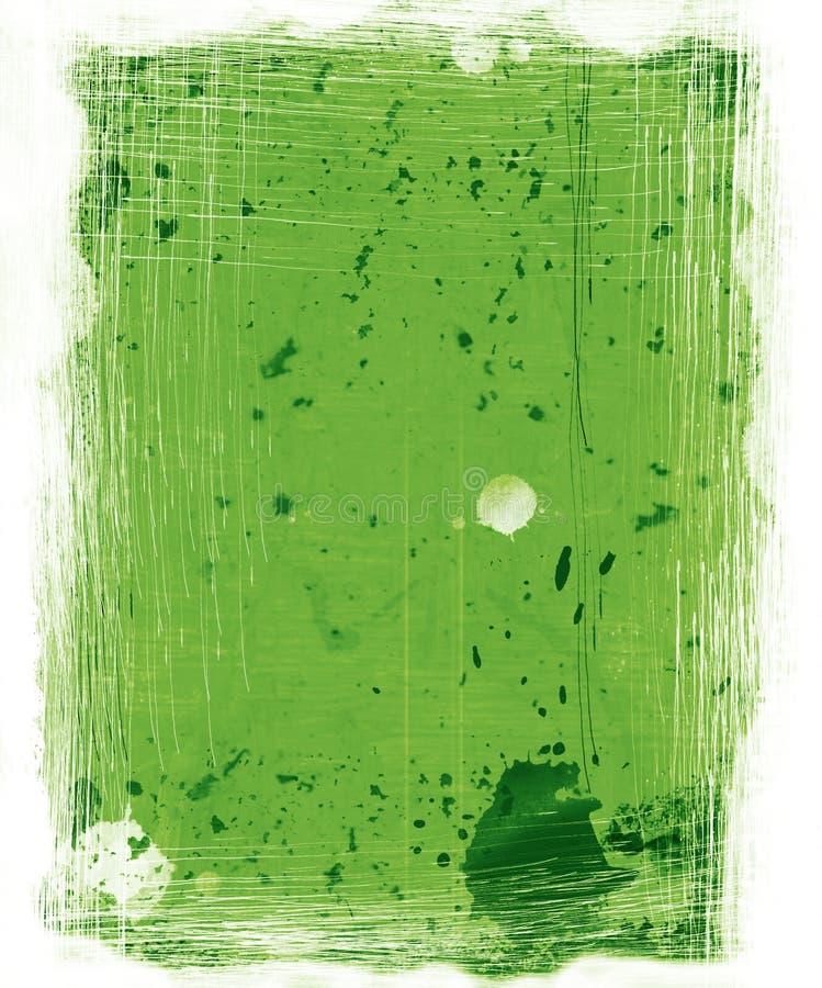 Fundo verde de Grunge ilustração stock
