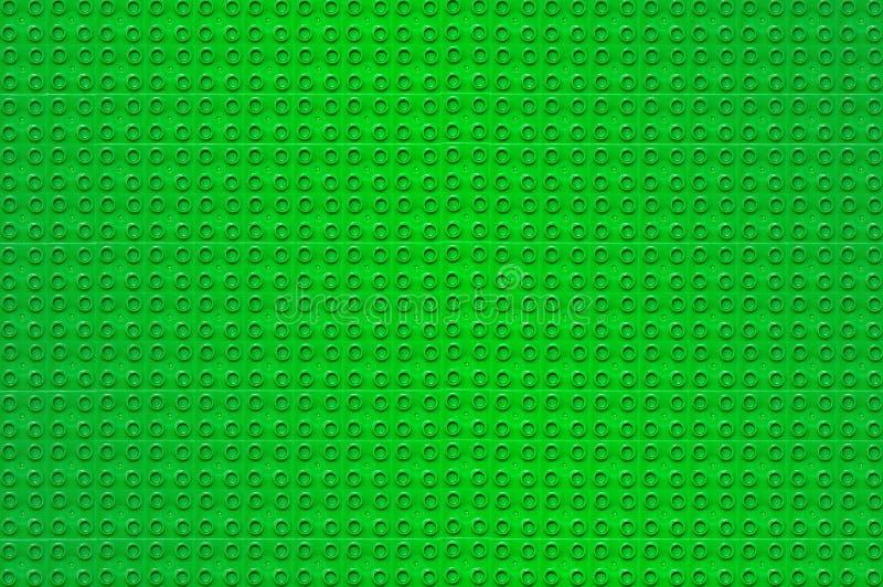 Fundo verde de Lego imagens de stock