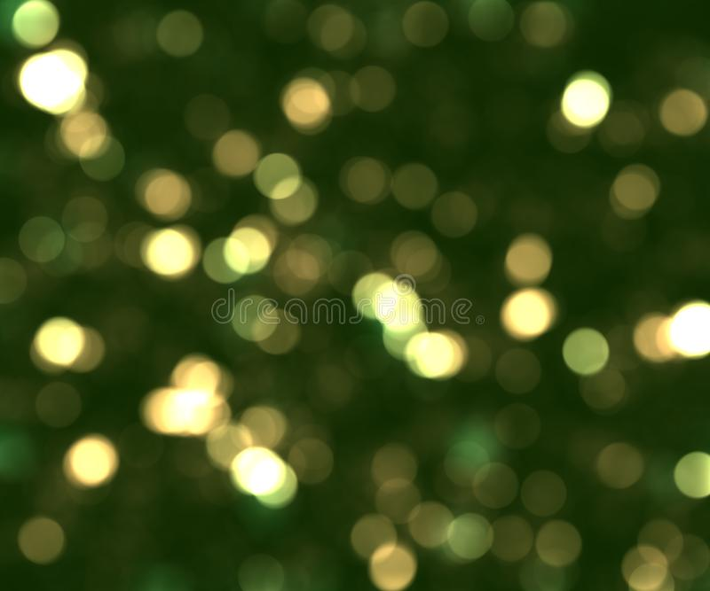 Fundo verde do bokhe fotografia de stock royalty free