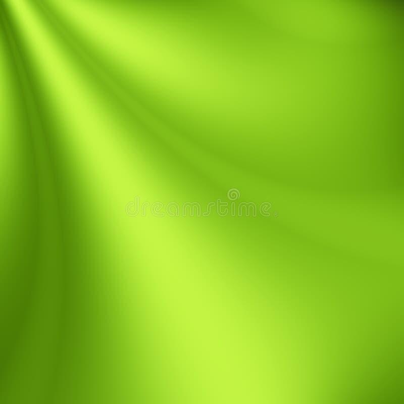 Fundo verde do eco ilustração stock
