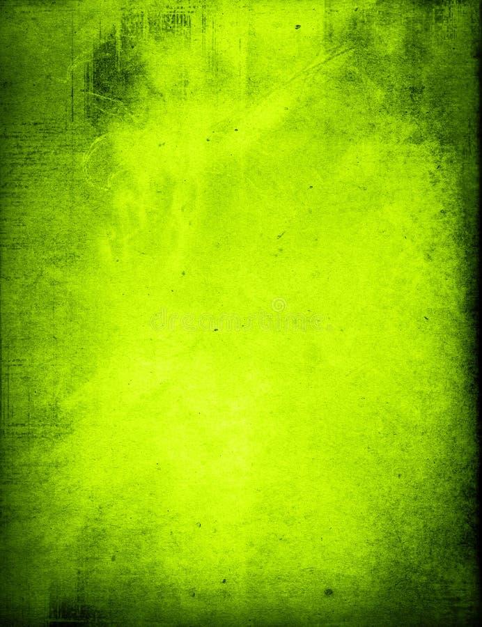 Fundo verde do grunge ilustração do vetor
