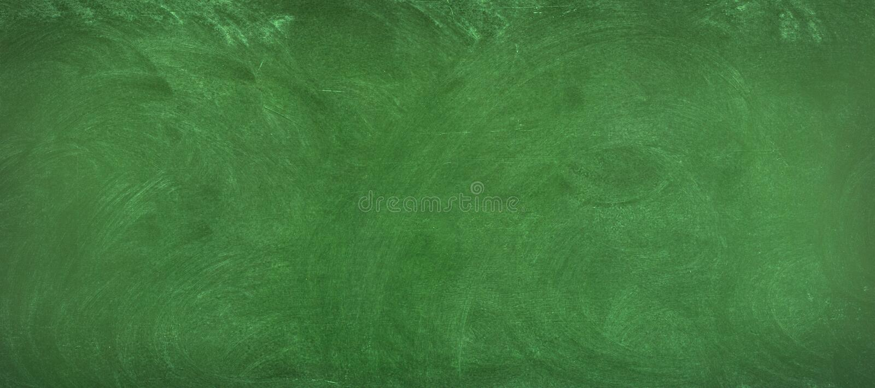 Fundo verde do quadro limpe a superfície do quadro-negro imagens de stock royalty free