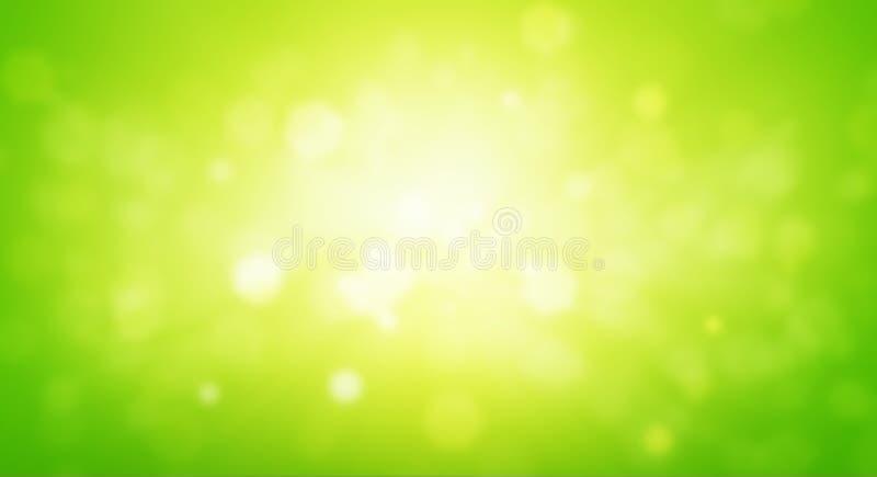 Fundo verde do sumário do borrão fotografia de stock