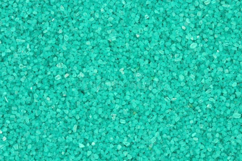 Fundo verde dos cristais grosseiros do pó imagens de stock royalty free