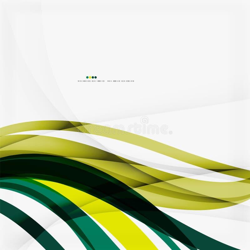 Fundo, verde e azul abstratos coloridos brilhantes ilustração royalty free