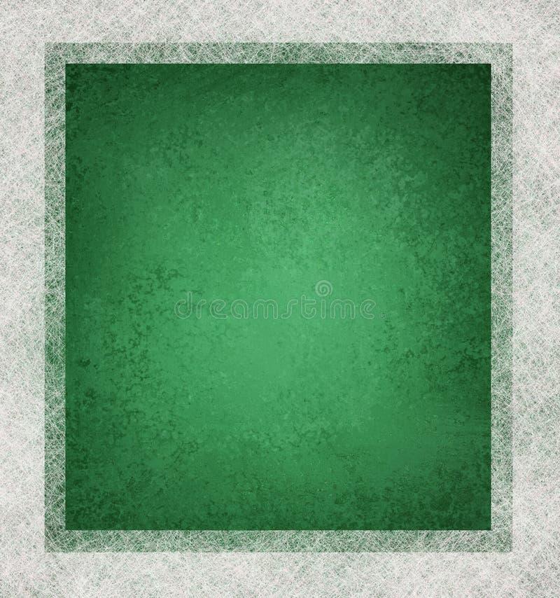Fundo verde e branco ilustração royalty free