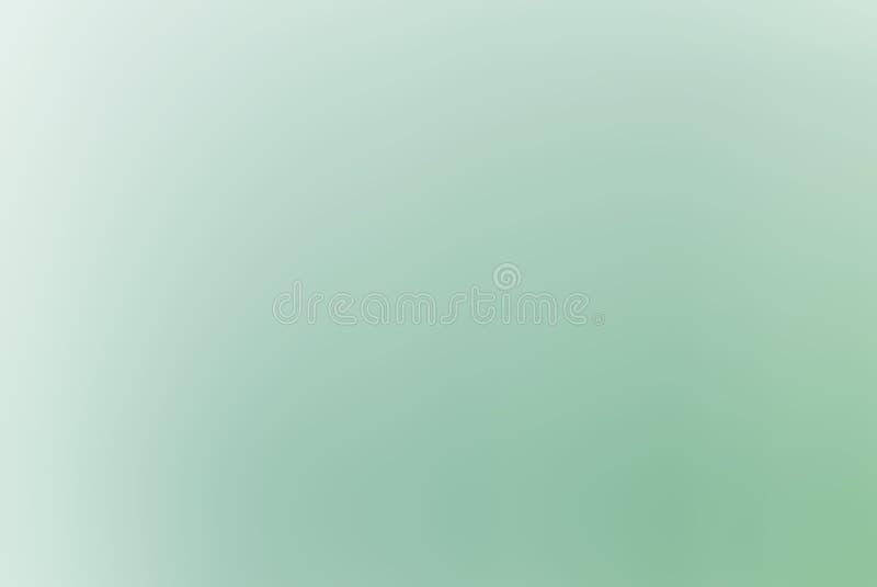 Fundo verde macio do inclinação fotografia de stock