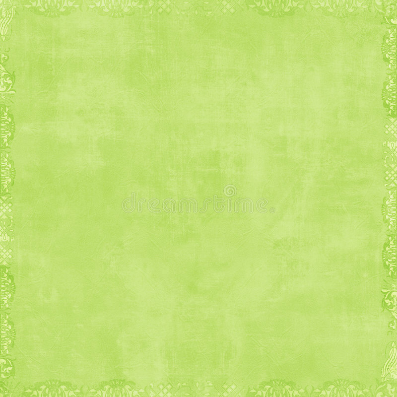 Fundo verde macio do Scrapbook ilustração stock