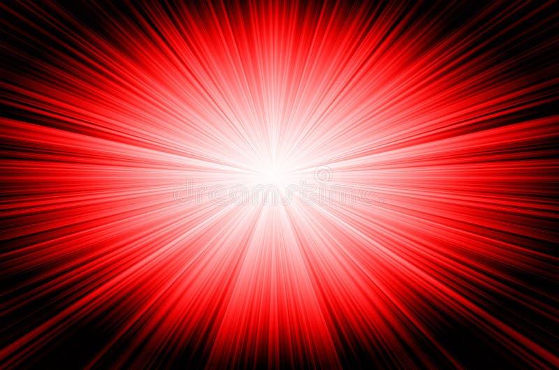 Fundo vermelho abstrato ilustração stock